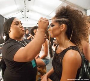 Mercedes-Benz-Fashion-Week-Makeup-Artist-Patrick-Simondac-Backstage-Makeup-Beauty-Dolores-Cortes-2014-Runway-MBFW-Swim-1024x934