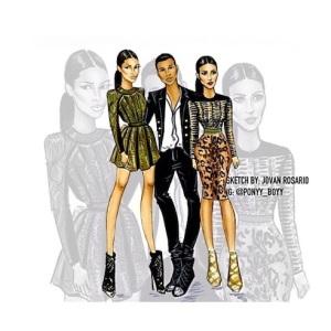 Kim-Kardashian-Paris-Fashion-Week-Balmain-Valentino-Instagram1