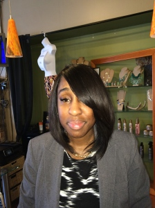Natural looking bob weave