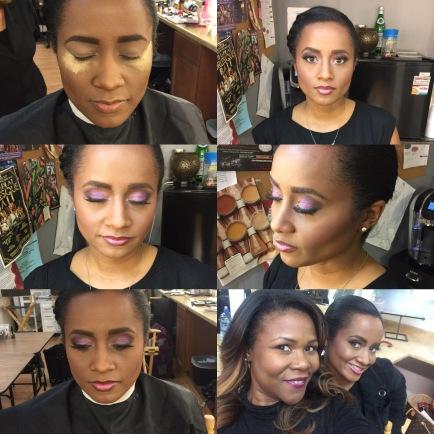 Make Up Test Model